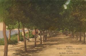 Варна. Бюфета при Морската градина
