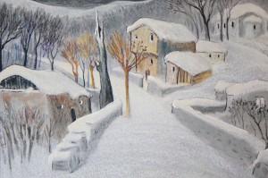 """""""Зима"""". Данаил Райков, 2001 г."""