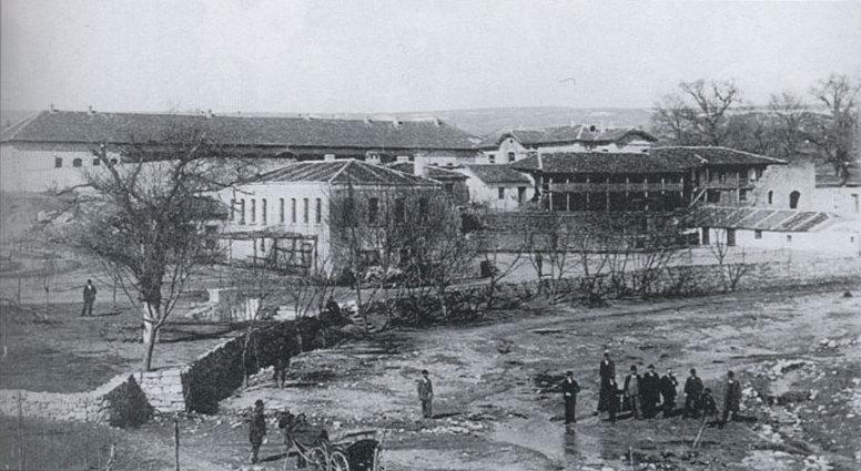 """Манастирът """"Св. Св. Константин и Елена"""" - 1905 г."""