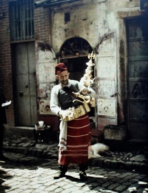 Алберт Кан. Продавач на сироп