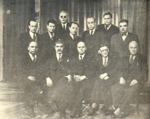 Управителният съвет на Съюза на провинциалните журналисти