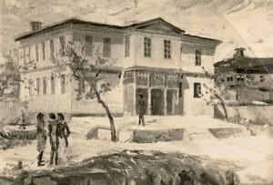 Къщата на братя Тедески, в която се провежда съюзническата конференция