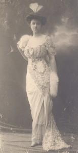 Портрет на Анна Станчова - придворна дама, съпруга на Димитър Станчов